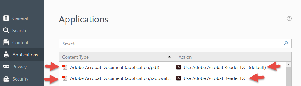 Mozilla Firefox update Version 52 0 and Reports using Adobe
